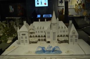 La maquette du château de Gatsby (le Magnifique)